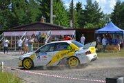 Minuloročná Rallye Tatry. V tomto roku by mala byť ešte kvalitnejšia.