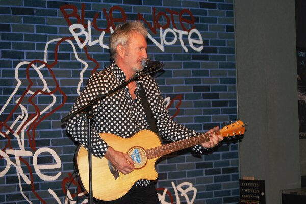 Pete Lincoln v klube Blue Note.