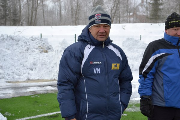 Viliam Nemčko. Tréner FK Svit.