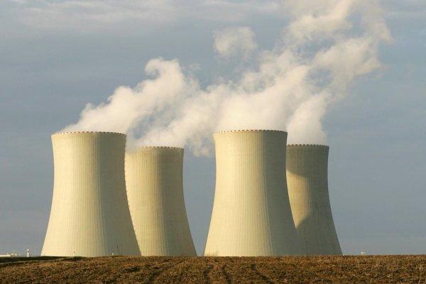 Jadrová elektráreň v Leibstadte.
