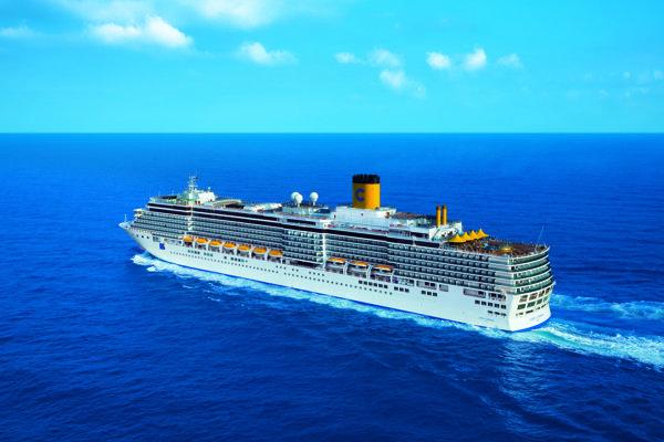 Costa Luminosa je moderná a zábavná loď.