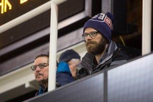 Michal Handzuš momentálne sleduje zápasy iba z hľadiska.