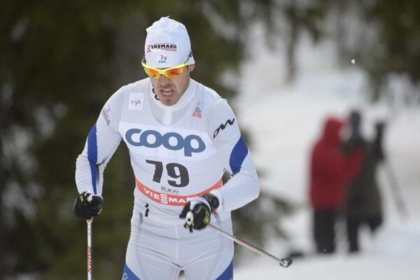Peter Mlynár je najskúsenejším spomedzi slovenských bežcov na lyžiach.