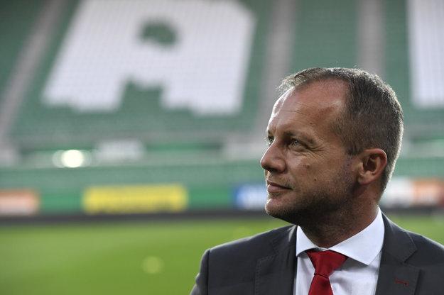 Generálny manažér AS Trenčín Róbert Rybníček.