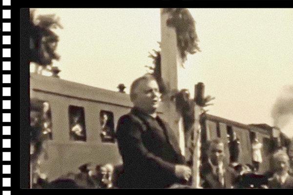 Snímka obrazovky s videom.