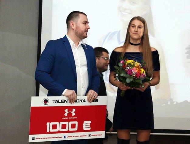 Nikola si odniesla finančnú prémiu 1000 eur.