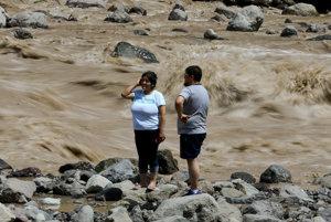 Záplavy v Čile vyvolali zosuvy pôdy, 1,5 milióna ľudí je bez pitnej vody