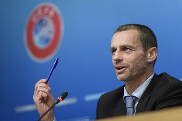 Prezident UEFA Aleksander Čeferin v Šanghaji oficiálne oznámil, že spoločnosť finančne potiahne majstrovstvá Európy v rokoch 2020 a 2024, ako aj novoutvorenú Ligu národov.