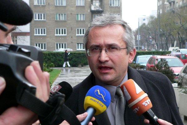 Peter Ďuračka na archívnej fotografii z roku 2005.