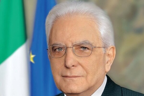 Taliansky prezident Sergio Mattarella.