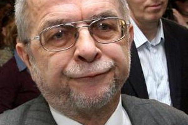László Nagy a Béla Bugár na tlačovej besede SMK.