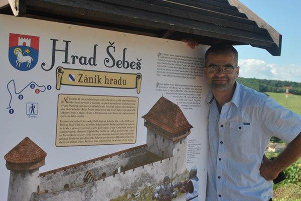 Koordinátor projektu Martin Sárossy.