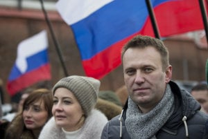 Ruský aktivista Navaľnyj organizoval protikorupčný protest, polícia ho zatkla