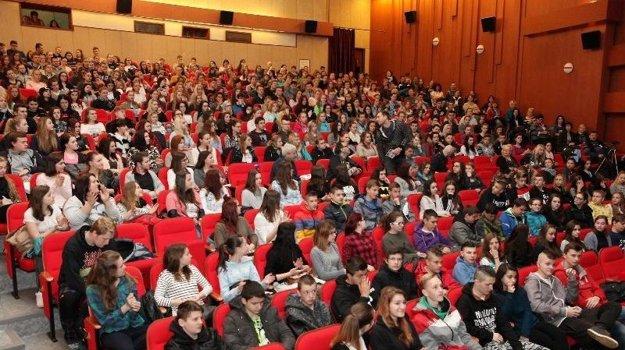 Pohľad do publika.