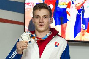 Strieborný šprintér z majstrovstiev Európy na 60 m Ján Volko.