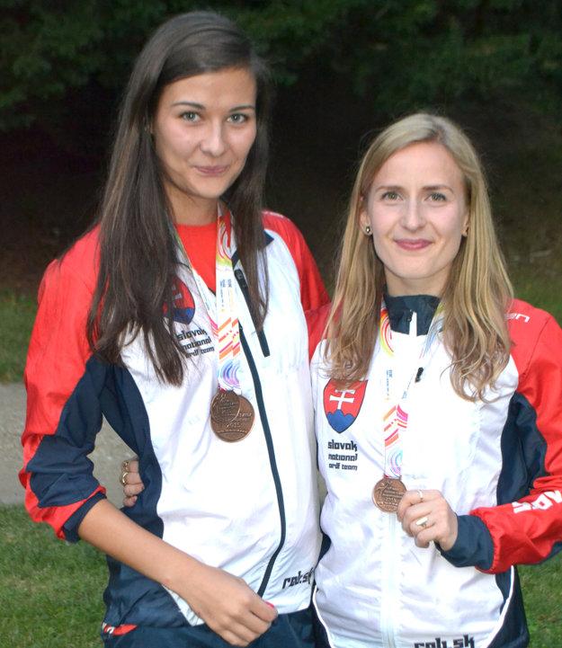 Katarína Košutová (vľavo) a Janka Macinská.