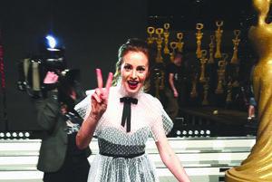 Druhá najlepšia. Mária Čírová skončila v kategórii speváčka na druhom mieste. Ak by sa udeľovala cena za extravagantné šaty, určite by vyhrala.