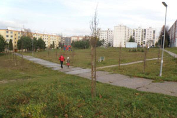Obyvatelia sídliska Kopanice sú radi, že z trávnatej plochy je park.
