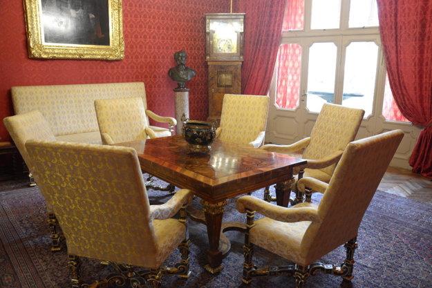 Pozlátená baroková sedacia súprava zobdobia Ľudovíta XIV.