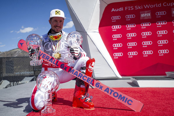 Marcel Hirscher, hviezda svetového lyžovania.