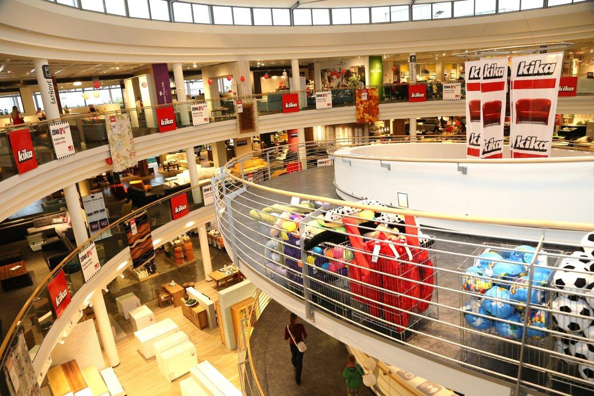 61a46727f0 Na Boroch pribudne predajňa Kika - Bratislava SME