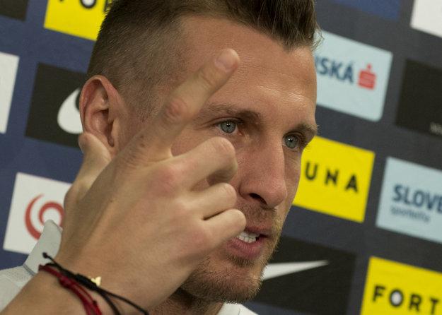 Ján Ďurica stále nevie, či bude na zápas proti Malte pripravený.