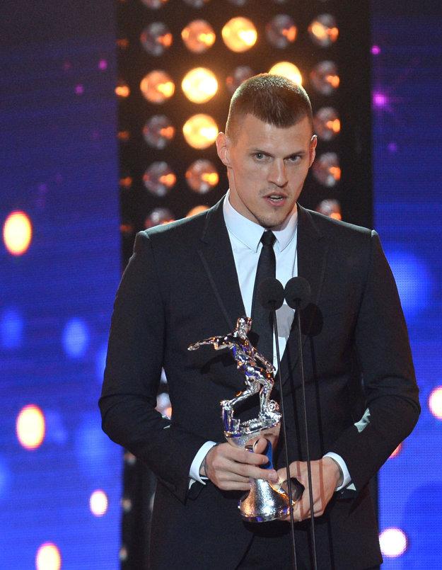 Martin Škrtel obsadil v ankete Futbalista roka 2016 druhé miesto.