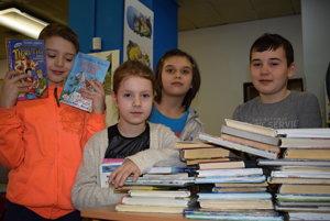 Vihorlatskú knižnicu navštevujú hlavne deti.