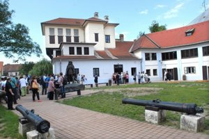 Rodošto - pamätný dom Františka II. Rákocziho.