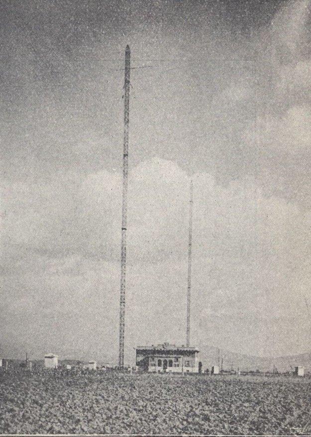 Rádiostanica v Haniske.