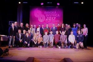 Všetci ocenení športovci Banskej Bystrice