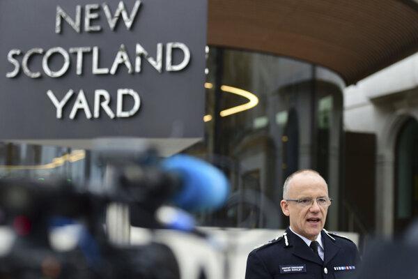 Hovorca protiteroristickej polície Mark Rowley.