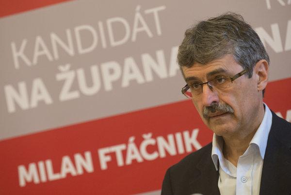 Milan Ftáčnik ohlásil svoju kandidatúru na predsedu Bratislavského samosprávneho kraja a predstavil svoj volebný program pod názvom Pre slušný život v kraji.
