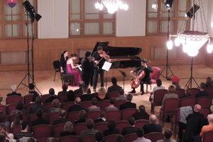 Klavírne kvarteto Berlínskej filharmónie - Berlin Piano Quartet - vystúpilo v rámci Galérie hudby v minulom ročníku.