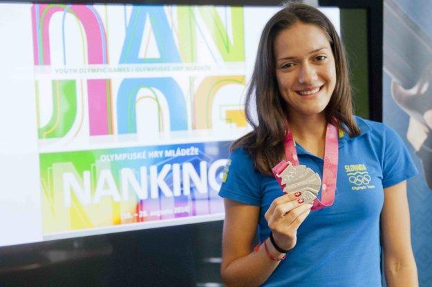 Pred vyše dvoma rokmi získala striebro na olympijských hrách mládeže v Nankingu.