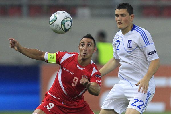 Michael Mifsud (vľavo) je patrí medzi najlepších futbalistov maltskej histórie.