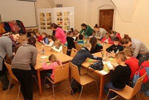Súčasťou podujatia boli aj tvorivé dielne.