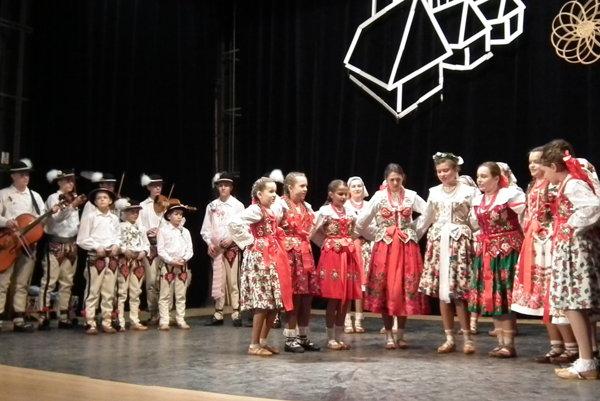 Detský folklórny súbor Goral z Hladovky oslavuje tento rok 60 rokov od založenia.