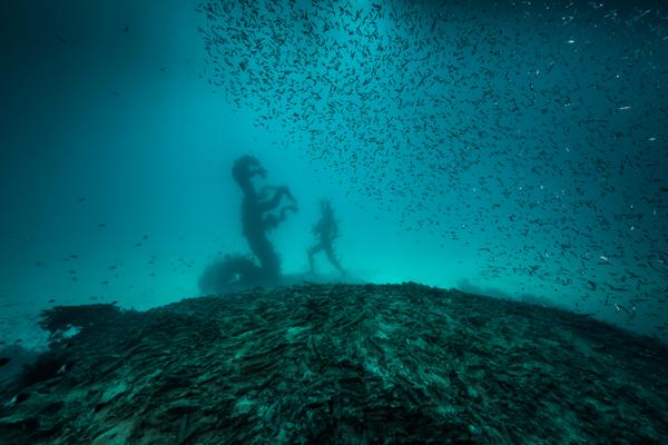Hirst tvrdí, že sa kvôli novej výstave ponoril do oceánskych hĺbok.