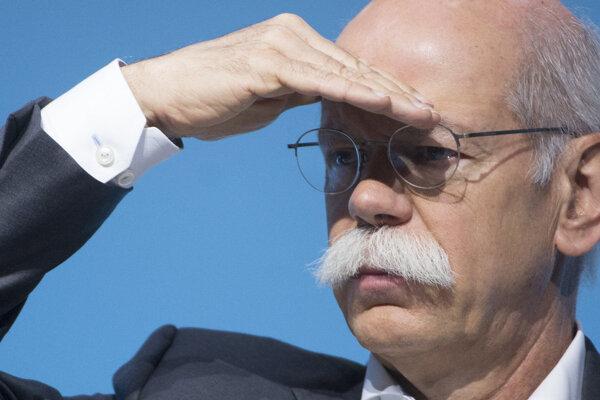 Dieter Zetsche, predseda predstavenstva automobilky Daimler a riaditeľ značky Mercedes-Benz.