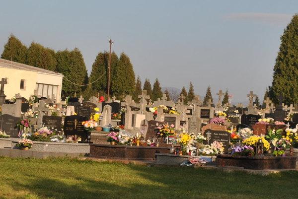 Cintorín Šváby. Stále sa tu zaoberajú výkupom pozemkov.