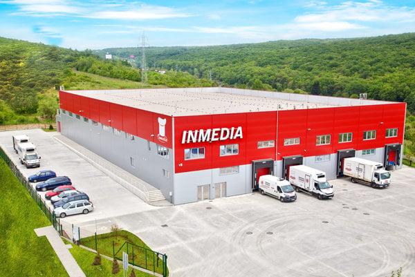 Areál spoločnosti Inmedia.