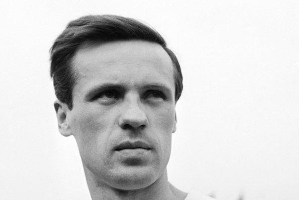 Titus Buberník v československej reprezentácii v roku 1962.