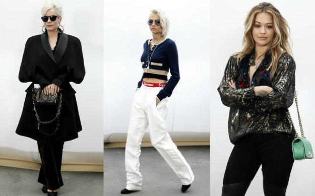 Lily Allen, Cara Delevingne, Rita Ora