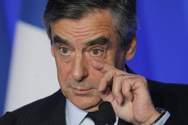 Francúzsky prezidentský kandidát Francois Fillon.