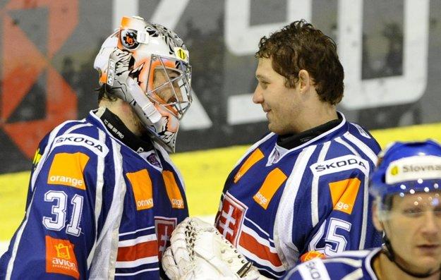 Ján Laco (vľavo) a Ján Lašák nastúpili proti sebe.