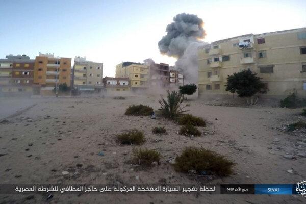Útoky Islamského štátu spôsobujú na Sinajskom polostrove neistotu.