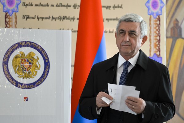 Arménsky prezident Serzh Sargsyan.