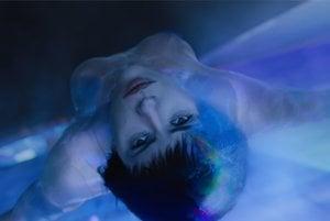 Scarlett Johnasson vo filme Ghost in the Shell.