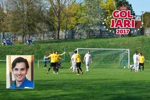 Diváci vo Veľkom Záluží videli v nedeľu krásny gól z nohy Martina Teplanského.